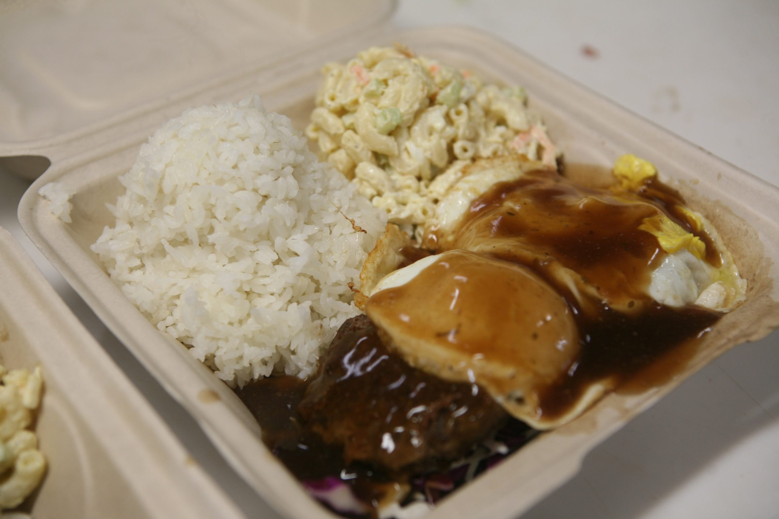 Hamburger Steak Loco Moco